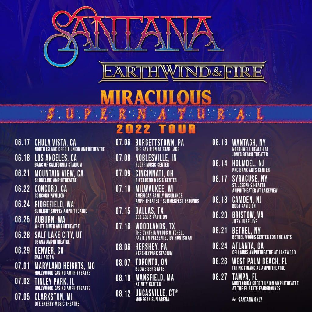 Santana Earthwindandfire 2022 Tourposter Instagram 1080x1080 Post01b2